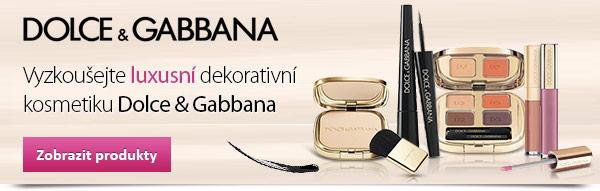 Dekorativní kosmetika Dolce & Gabbana!