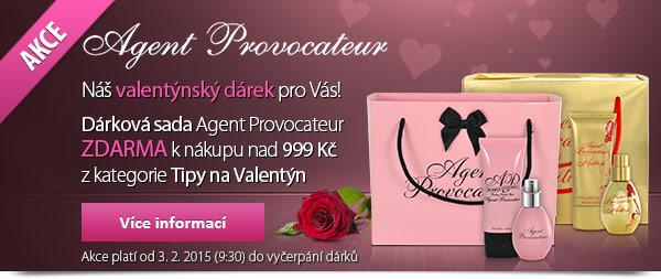 Dárková sada Agent Provocateur ZDARMA k nákupu nad 999 kč z kategorie Tipy na Valentýn