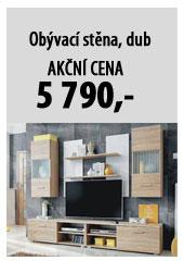 Obývací stěna GEBA OS, dub sonoma
