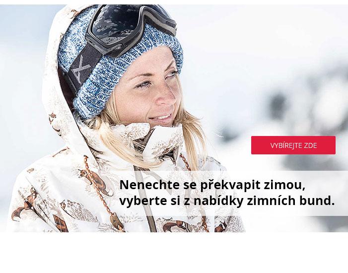 Nenechte se překvapit zimou, vyberte si z nabídky zimních bund.