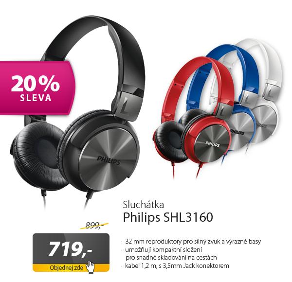 Sluchátka Philips SHL3160