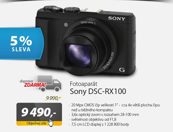 Digitální fotoaparát Sony DSC-RX100