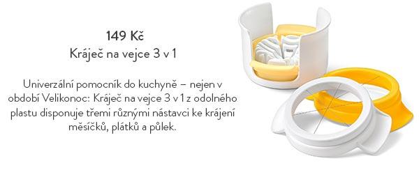 Kráječ na vejce 3 v 1