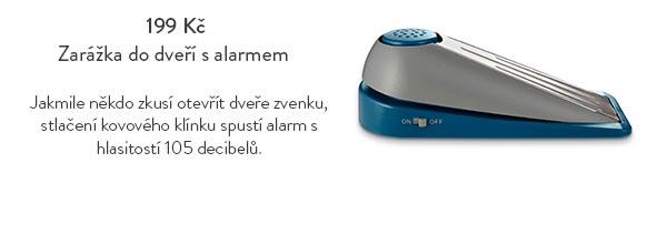Zarážka do dveří s alarmem