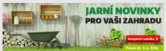 Jarní novinky pro vaši zahradu