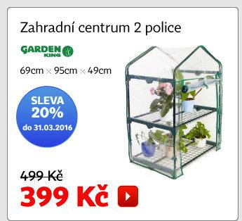 Zahradní centrum 2 police