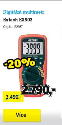 Digitální multimetr Extech EX503