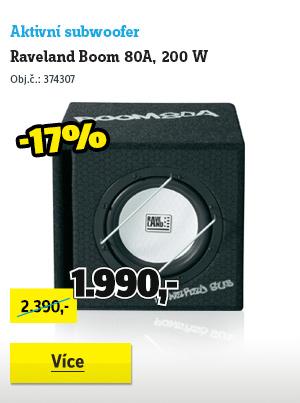Aktivní subwoofer Raveland Boom 80A