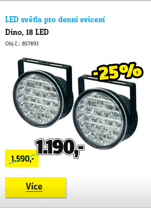 LED světla pro denní svícení Dino