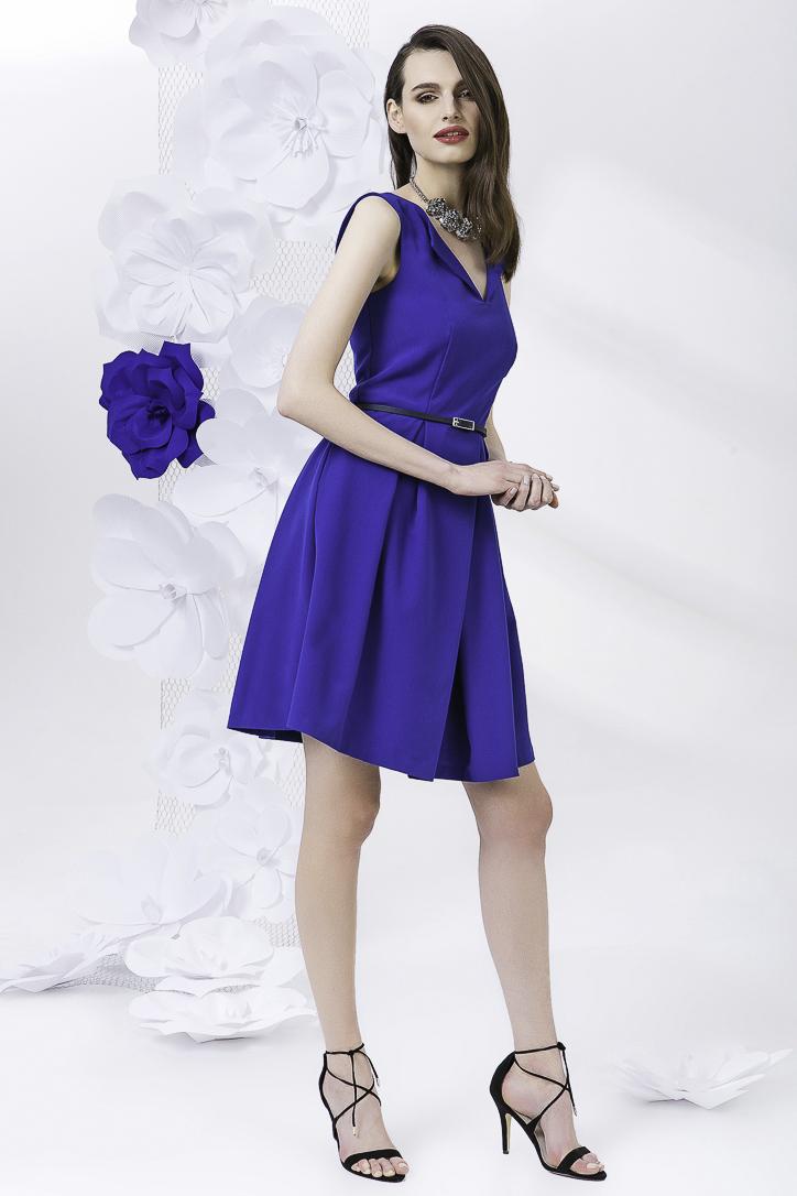 šaty dámské bez rukávu