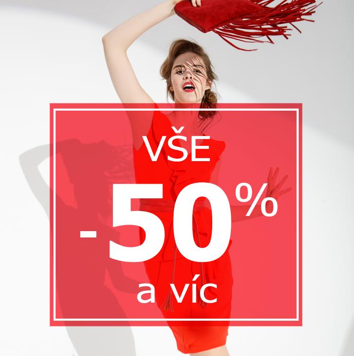 Výprodej 50%