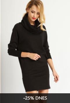Šaty dámské dlouhý rukáv