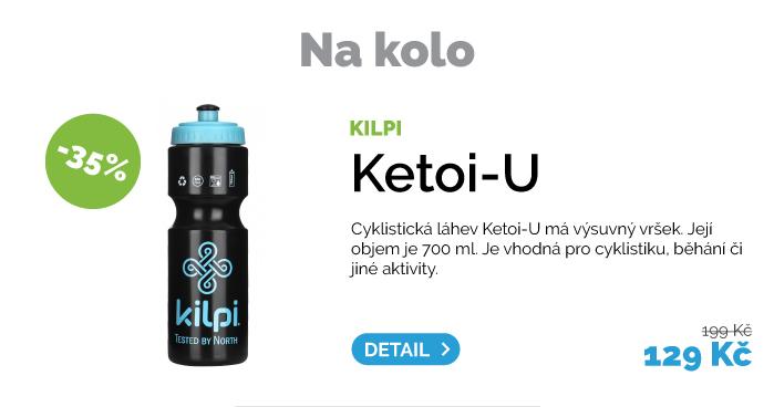 Cyklistická lahev Kilpi Ketoi