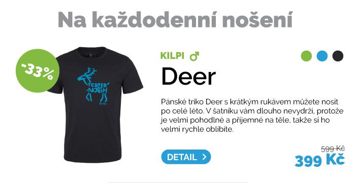 Pánské triko Kilpi Deer