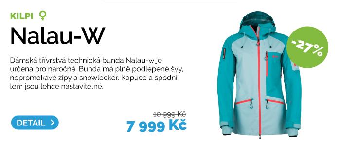 Dámská technická bunda Kilpi Nalau
