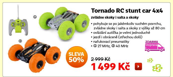 Autíčko Tornado RC